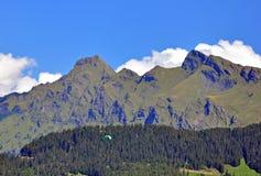 Zwitserse Alpes Stock Fotografie