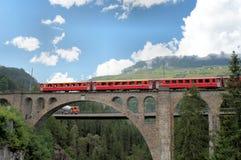 Zwitserse bruggen Stock Foto