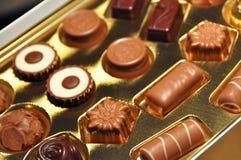 Zwitserse chocolade Stock Foto's
