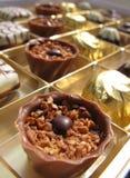 Zwitserse chocolade Stock Afbeeldingen