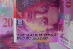 Zwitserse Frank Royalty-vrije Stock Afbeeldingen