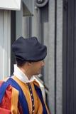 Zwitserse gardesoldaat Royalty-vrije Stock Afbeeldingen