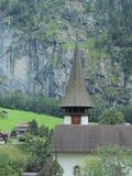 Zwitserse kerk Stock Foto