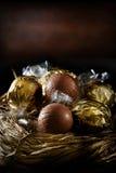 Zwitserse Kerstmistruffels stock foto's