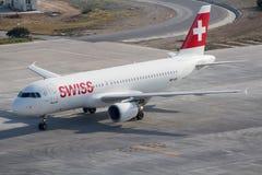 Zwitserse luchtvaartlijnen Royalty-vrije Stock Foto