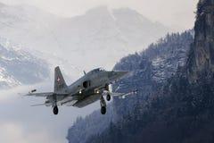 Zwitserse Tijger F-5 Stock Afbeelding