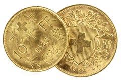 Zwitserse Vreneli Royalty-vrije Stock Afbeeldingen