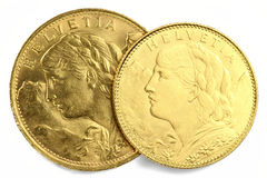 Zwitserse Vreneli Royalty-vrije Stock Afbeelding