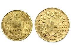 Zwitserse Vreneli Royalty-vrije Stock Foto