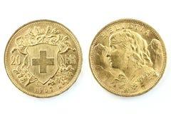 Zwitserse Vreneli Stock Foto's