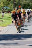 Zwizanski Leads Team Optum at Stillwater Royalty Free Stock Photo