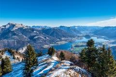 Zwoelferhorn berg, Österrike Arkivfoto