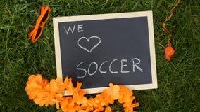 Zwolenników artykuły Holenderski futbol fotografia royalty free