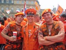 zwolennik holenderska futbolowa krajowa drużyna Obraz Royalty Free