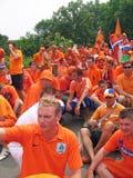 zwolennik holenderska futbolowa krajowa drużyna Zdjęcie Stock