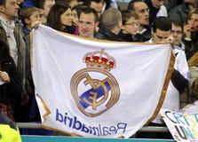 Zwolennik Real Madrid zdjęcie royalty free