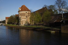 Zwolle, Holland tower of the old city walls Stock Images