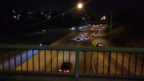 Zwolnione Tempo materiał filmowy ruch drogowy w Los Angeles z dźwiękiem zbiory