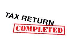 Zwrot Podatku Uzupełniający obraz stock
