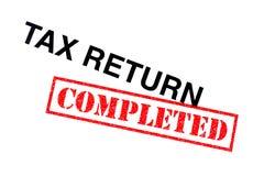 Zwrot Podatku Uzupełniający obrazy stock