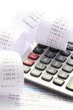 Zwrot Podatku weryfikacja Obraz Stock