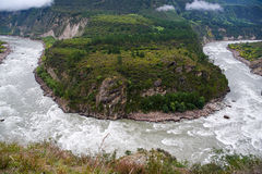 Zwrot rzeka Obraz Royalty Free