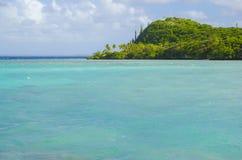 Zwrotnik wyspa Zdjęcia Royalty Free
