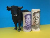 Zwyżkowy na chińczyku Juan Zdjęcia Stock