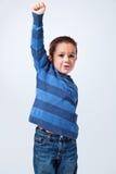 Zwycięski Little Boy Zdjęcie Royalty Free