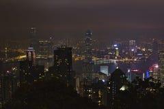 zwycięstwa miejsca Hong Kong obserwaci pokład Zdjęcie Stock