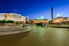 Zwycięstwa (Pobedy) kwadrat w Kaliningrad Obraz Royalty Free