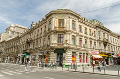 Zwycięstwo aleja W Bucharest Zdjęcia Royalty Free