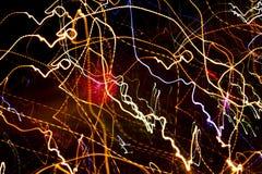 Zwycięstwo dnia fajerwerków świętowania kolorowy widowisko Zdjęcia Stock