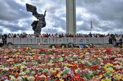 Zwycięstwo dzień, Latvia Zdjęcia Royalty Free