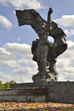 Zwycięstwo dzień, Latvia Fotografia Stock