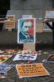 Zwycięstwo dzień &-x28; 9 May&-x29; w Treptower parku berlin Germany Zdjęcie Royalty Free