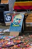 Zwycięstwo dzień &-x28; 9 May&-x29; w Treptower parku berlin Germany Obrazy Royalty Free