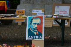 Zwycięstwo dzień &-x28; 9 May&-x29; w Treptower parku berlin Germany Fotografia Stock