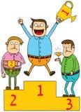 Zwycięzca royalty ilustracja