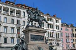 Zwycięzca Emmanuel II - Wenecja, Włochy obraz royalty free