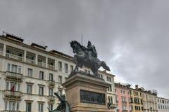 Zwycięzca Emmanuel II - Wenecja, Włochy obrazy stock