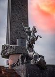 Zwycięstwo park na Poklonnaya Gora Moskwa Zdjęcie Stock