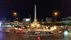 zwycięstwo zabytek, Bangkok, Thailand Zdjęcie Stock