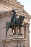 Zwycięzca Emmanuel II, Altare della Patria, piazza Venezia, Rzym Obrazy Stock