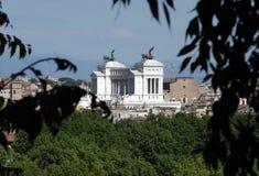 Zwycięzca krajowy Zabytek Emmanuel II, Rzym Zdjęcia Stock