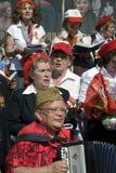 Zwycięstwo dnia świętowanie w Moskwa Obraz Royalty Free