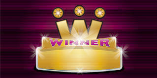 Zwycięzca Obraz Stock