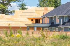 Zwyczaj - budujący dom Obraz Stock