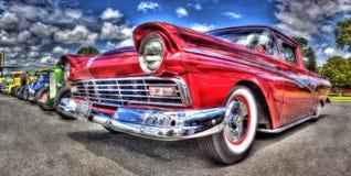 Zwyczaj malująca 1950s amerykanina Ford furgonetka Obraz Royalty Free