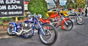 Zwyczaj projektował Amerykańskich motocykle Obrazy Royalty Free